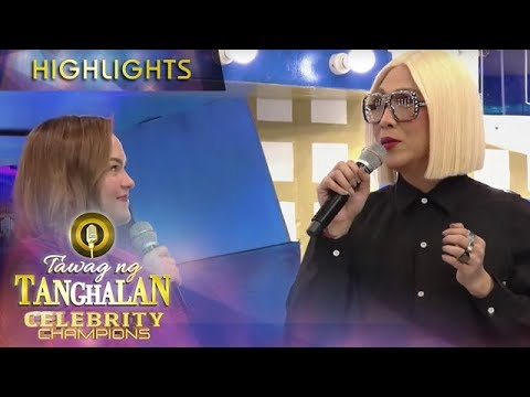 Stephen admits to Vice that she is currently facing a problem | Tawag ng Tanghalan