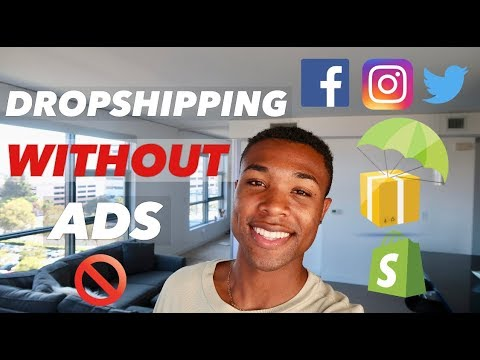 Dropshipping WITHOUT Paying For ADS?! How To Do Marketing For Shopify in 2019 thumbnail