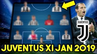 Juventus Possible Line Up XI January 2019 Ft Pogba, De Ligt & Other Transfers...