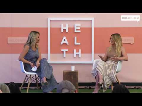 """Hilary Duff (""""Younger"""") on Being a Mom, Confidence & Period Poverty #BlogHer20 Health"""