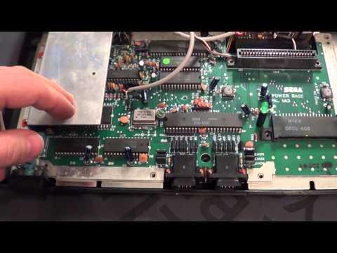 Sega Master System FM Mod + 50/60Hz Mod