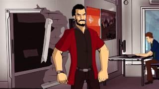 Не типичное рекламное агенство(Как мы делаем мультфильмы? - https://qm.animation.com Кто озвучил? - Зебуро Откуда треки? - https://vk.com/suitable2., 2014-09-28T07:25:52.000Z)