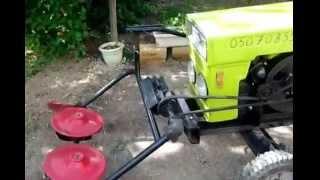 МиниТрактор DW120 Доработка трактора