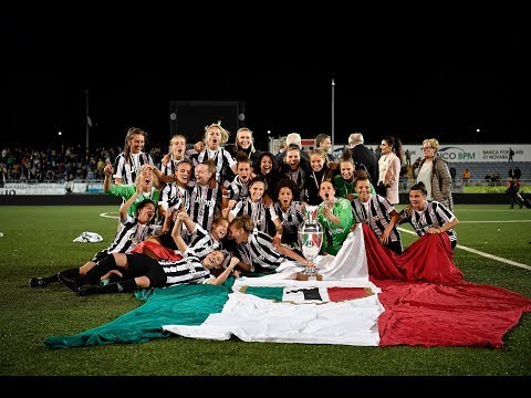 #WOMENF1RST: Juventus Women celebrate winning the Scudetto!