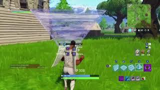 Shoot through wall glitch. Pyramid build hack Fortnite