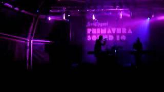 "Cold Cave - ""The Laurels of Erotomania"" at Primavera Sound 2010"