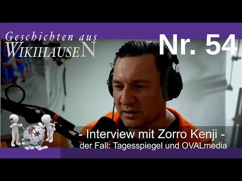 Interview mit Zorro Kenji - Der Fall: Tagesspiegel und OVALmedia