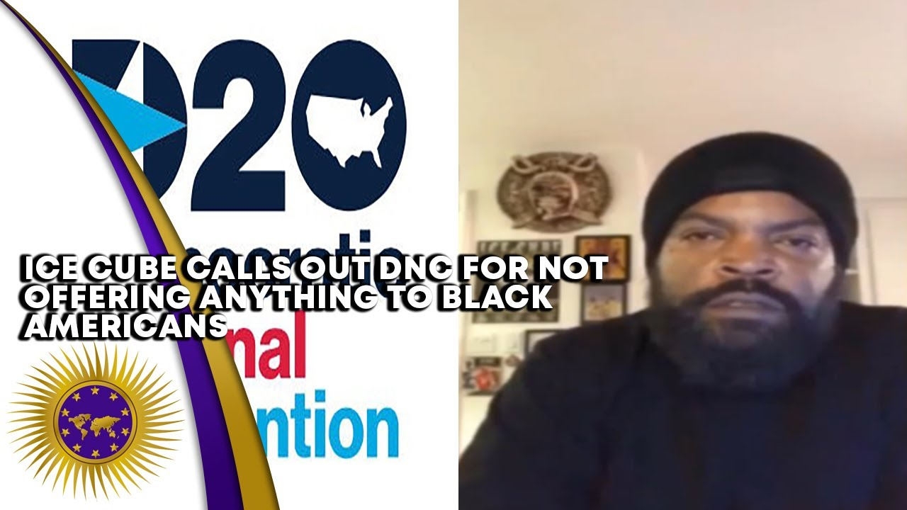 Ice Cube Calls Out The DNC For Not Offering Black Americans Anything During The Convention