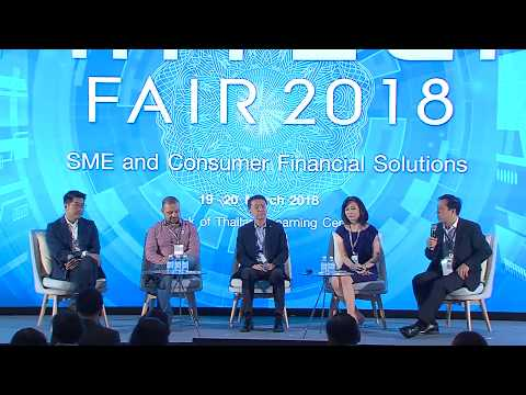 BKK FinTech Fair 2018 : Panel Discussion 5  Data Analytics, Machine Learning, and AI