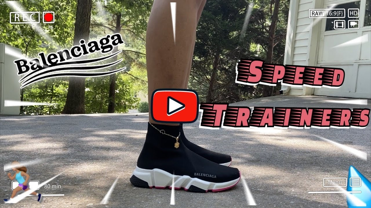 Balenciaga Speed Trainer Sneaker Review
