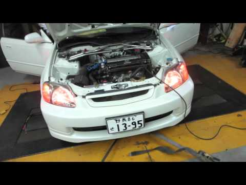 b18c supercharger dyno tune HSG EP. 305