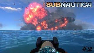 Subnautica #2 Co to za eksplozja !