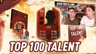 TOP100 TALENT #19 DAMON DE BEST! | KOEN WEIJLAND FIFA19