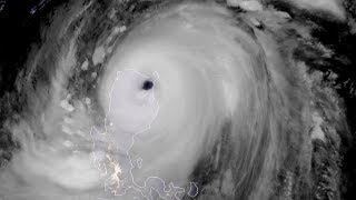 Super Typhoon Mangkhut seen by Himawari-8 satellite