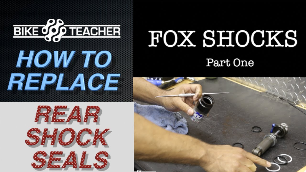 How to service a Fox Float rear shock, seal replacement  Part 1 of 2