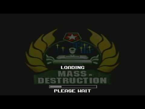 Mass Destruction Sony Playstation Campaign 5 Complete HARD