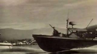 HATTERAS YACHT - ( PBR )  Mark I Navy Gun Boat Prototype 1965
