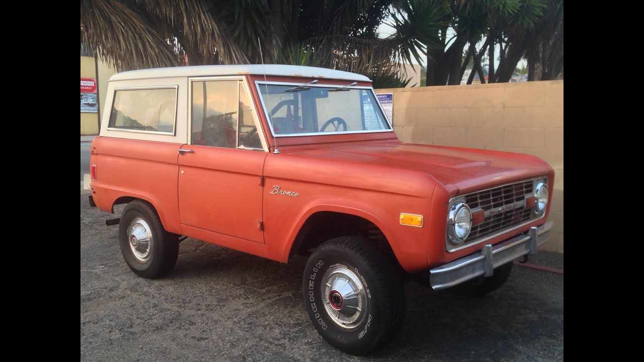 bronco for sale ford