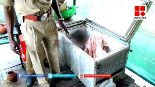 Toddy Shop Worker Dead body In Freezer