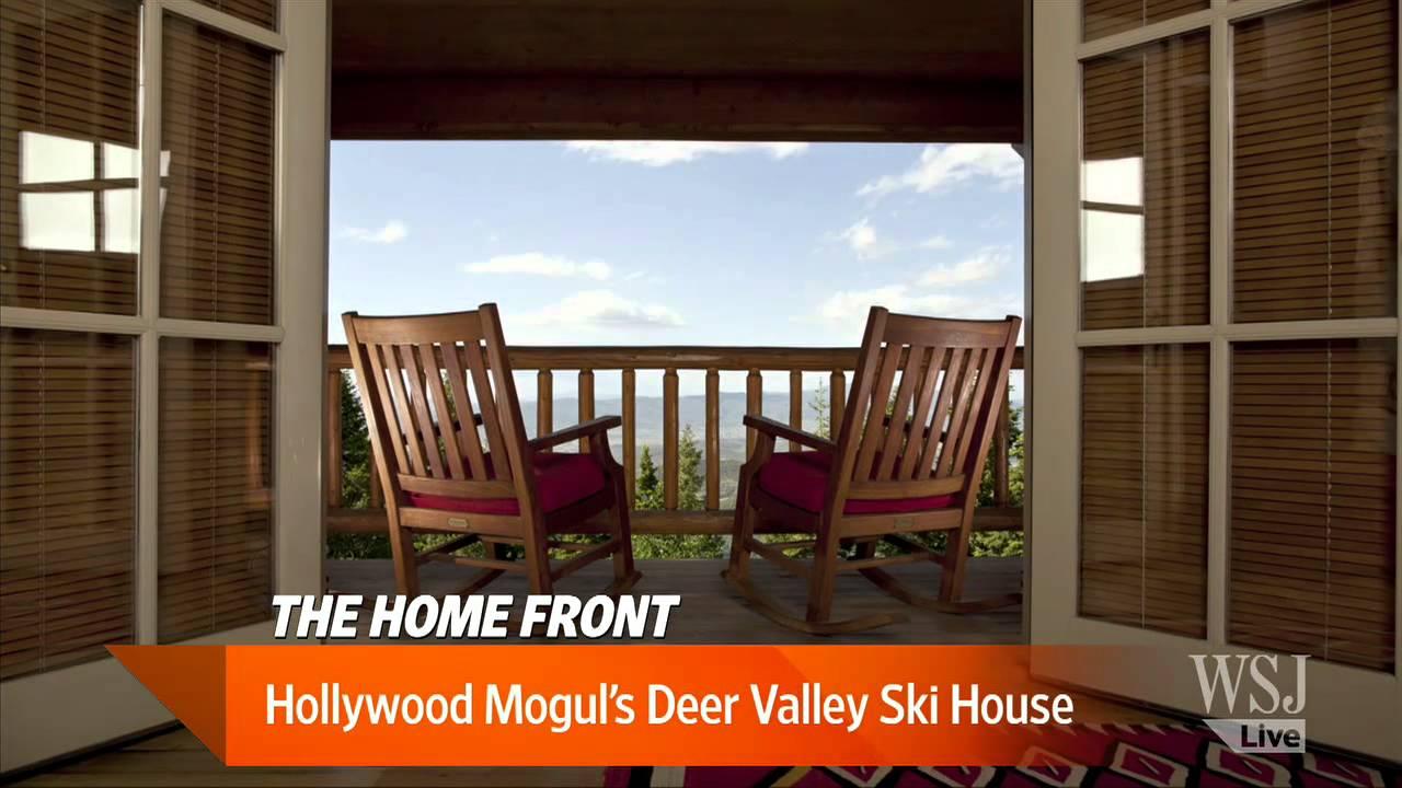 hollywood mogul u0027s deer valley ski house youtube