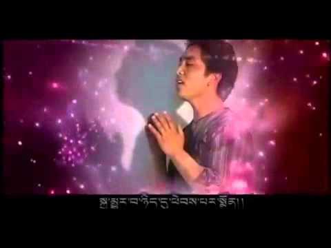 Ds singer in Tibet. good song of high  DS lama