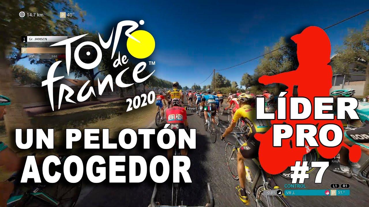 TOUR DE FRANCE 2020 Líder Pro #7 VR_JUEGOS