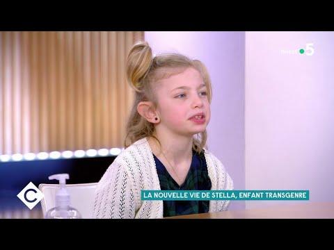 La nouvelle vie de Stella, enfant transgenre - C à Vous - 25/02/2021