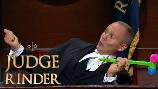 Judge Practises His Selfie Technique | Judge Rinder