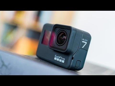 GoPro Hero 7 Black распаковка и мини тест
