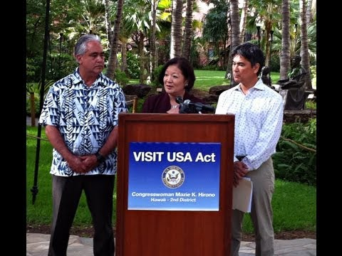 congresswoman-mazie-hirono-unveils-visit-usa-act-in-hawaii