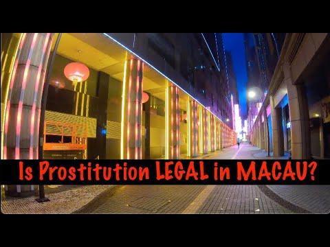 Is prostitution LEGAL in MACAU?