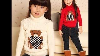 Посылка из Китая № 10 распаковка обзор теплые детские свитера