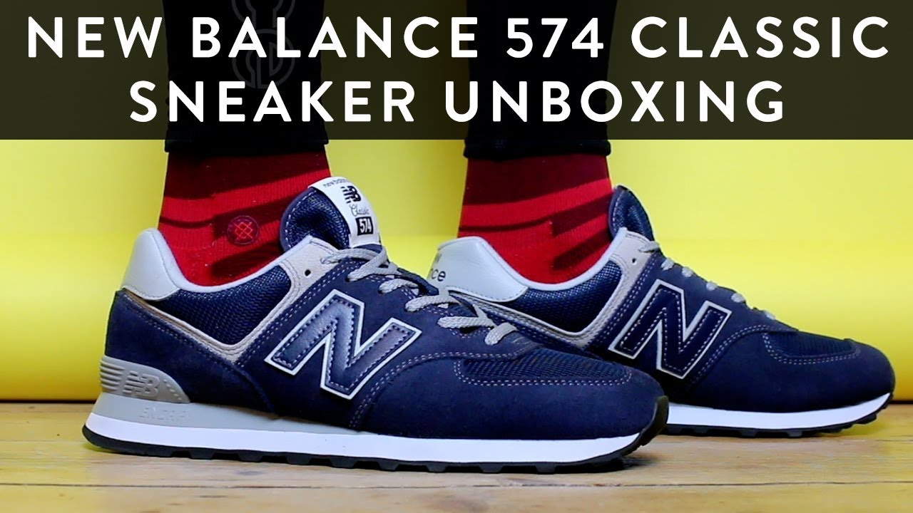 brand new 02ed6 b34ce New Balance 574 Classic | Sneaker Unboxing | The New Collections | Llomotes