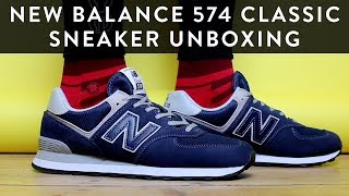 New Balance 574 Classic | Sneaker Unboxing | The New Collections | Llomotes