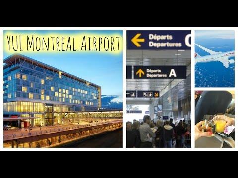 Montreal YUL Airport Tour | Pierre Elliott Trudeau Airport