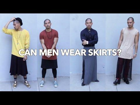 Can Men Wear Skirts?