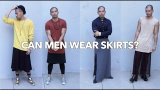 Can Men Wear Skirts?