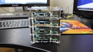 raspberry pi 2 cluster computer preview