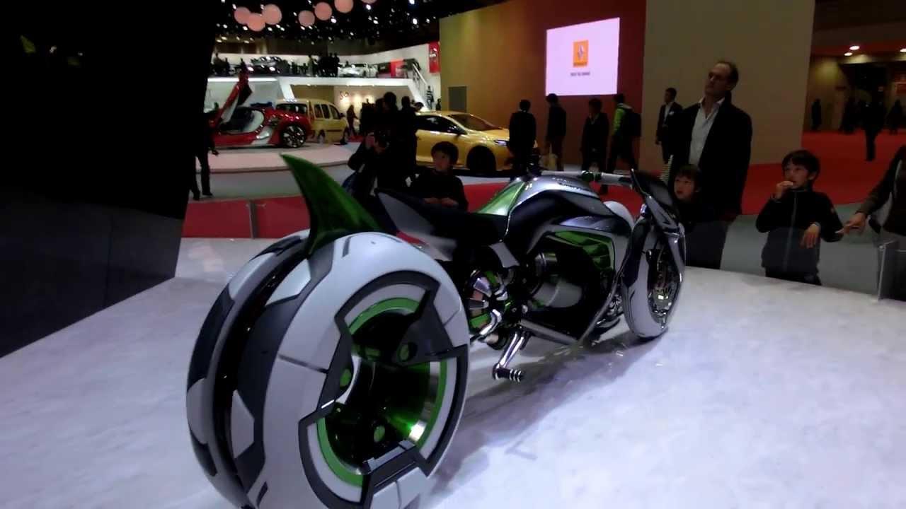 Kawasaki 3 Wheel Electric Vehicle Quot J Quot Concept In Tokyo