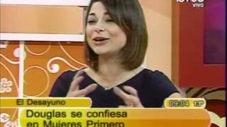 Douglas habla de sus hijas y de su esposa Ana Sol Romero
