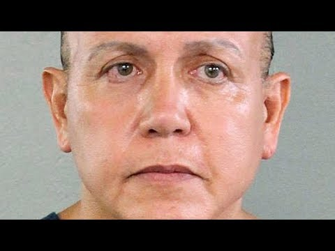 Arrest of suspected mail bomber Cesar Sayoc addressed by U.S. Justice Dept.