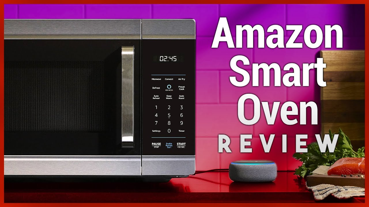 amazon smart oven review alexa controlled 4 in 1 microwave oven air fryer