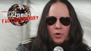 Joey Jordison - Wikipedia: Fact or Fiction?