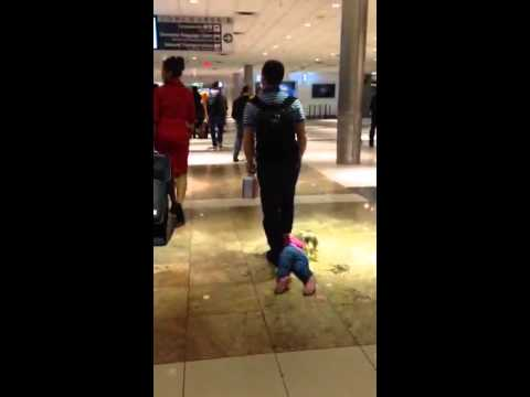 Airport girl