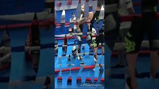 Interclub Connor Bath vs Dominic at millennium martial arts.