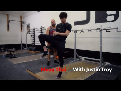 THE THREE KICKS OF MUAY THAI WITH JUSTIN TROY | JUST A MOMENT WITH THE COACH