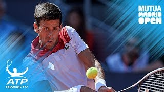 Djokovic, Paire, Raonic reach second round  | Madrid 2018 Highlights Day 2