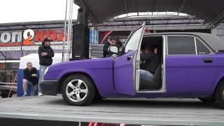 Петербургский Автозвук 2015 Волга на Ural AS12.3 - 155.5дб(не валит)