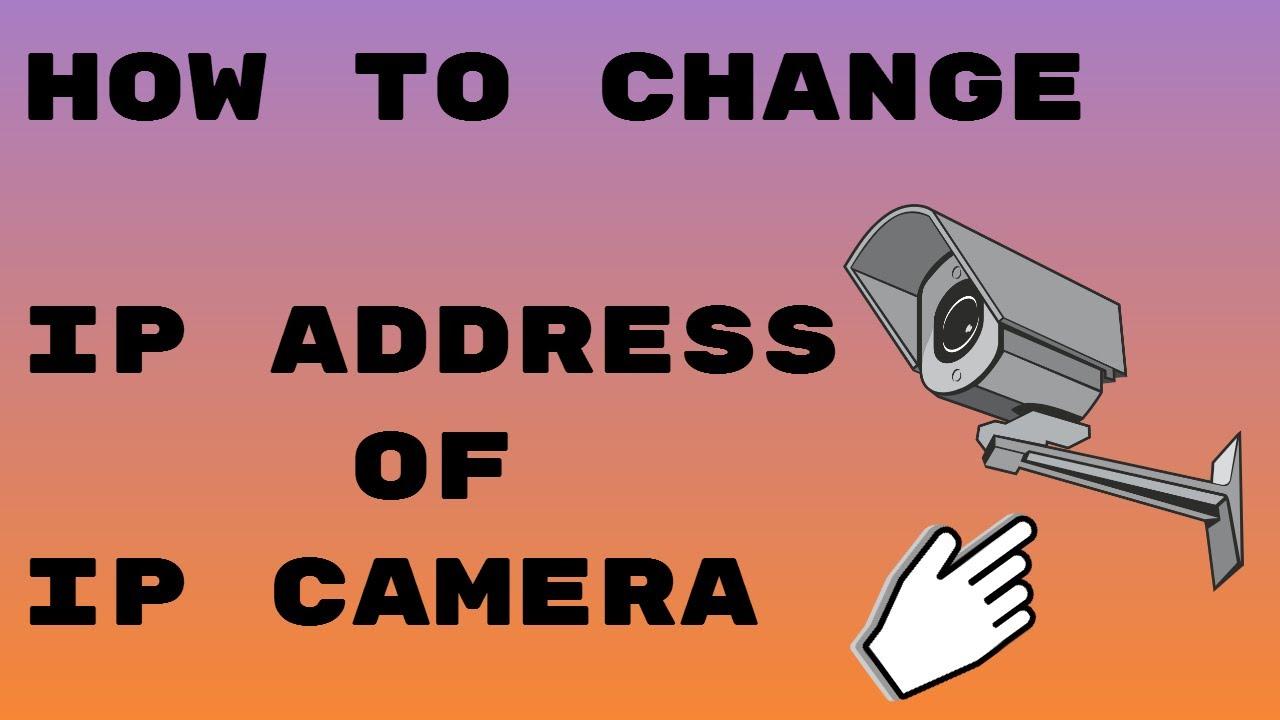 How To Change IP Address Or Default IP Address of IP ...