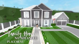 Roblox | Bloxburg | Family Home ( No Advanced Placement)